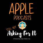 podcast logo with link to apple podcasts