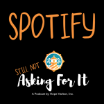 podcast logo with link to spotify podcasts