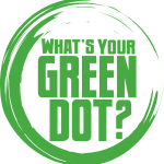 logo for green dot program. Text reads what's your green dot?